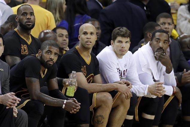 LeBron plays down talk of repeat of last season's finals comeback: '(Warriors) a different team'