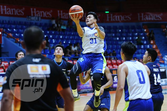 Oda Tampus has settled down as employee of Flying V - until D-League chance came calling