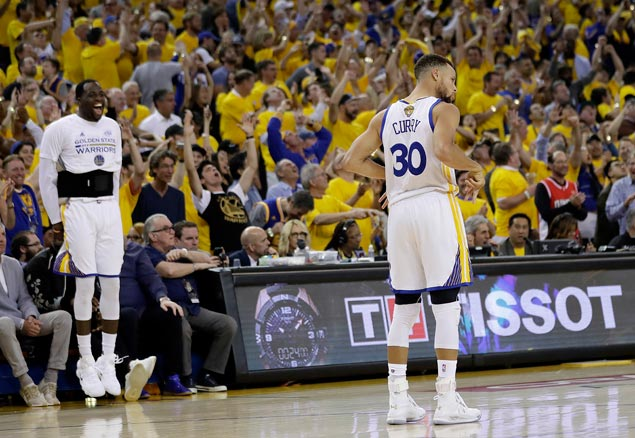 Warriors winning this year's NBA championship is now a matter of when, not if