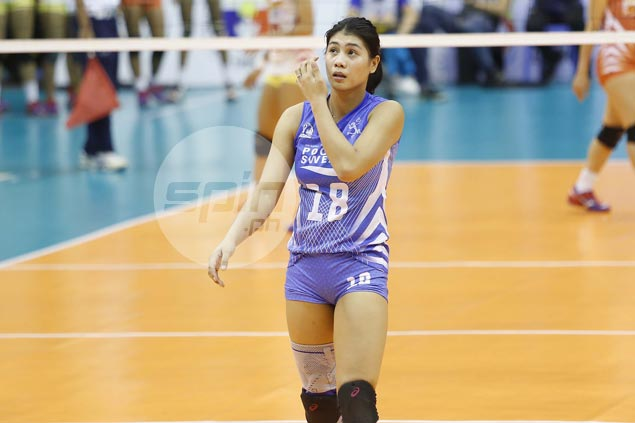 Myla Pablo jumps up two spots in MVP race but keeps focus on another Pocari title run