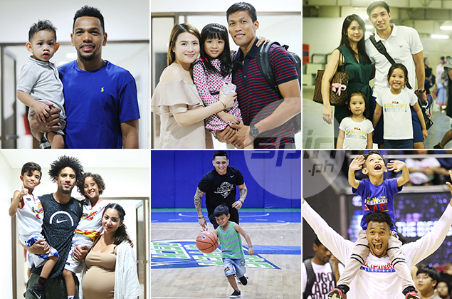 Cage heroes Pingris, Chan, Castro, Norwood take on nanny, playmate roles when on daddy duty