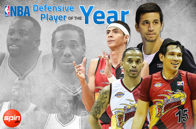 Green or Kawhi? Top PBA defenders reveal choice for NBA Defensive Player of the Year