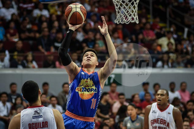 Semerad's hot shooting lifts TNT past Ginebra for 2-0 lead