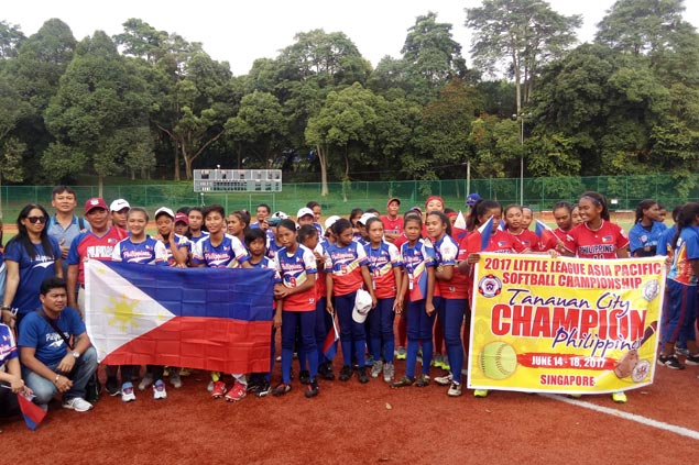 ECTSI, Domingo Lacson HS, Tanauan nab berths to Little League Softball World Series