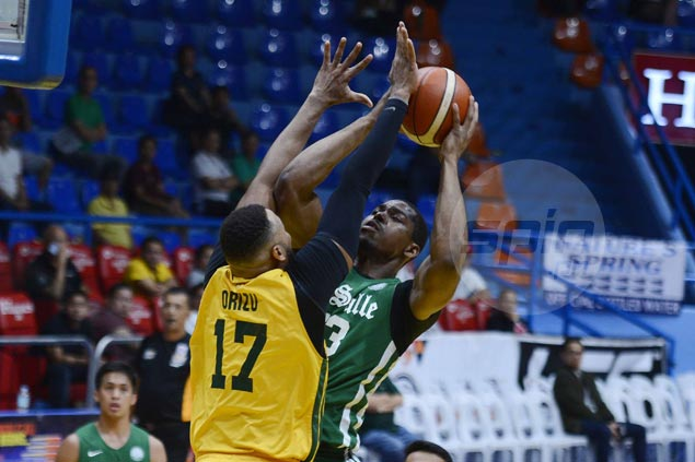 Ben Mbala monster double-double powers Archers past Tamaraws and into semifinals