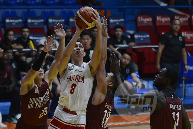 Robert Bolick takes charge as Lions beat Maroons to set up semifinal showdown with JRU