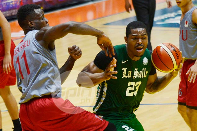 Santillan's late heroics deny Lyceum as La Salle books return to Filoil Cup finals