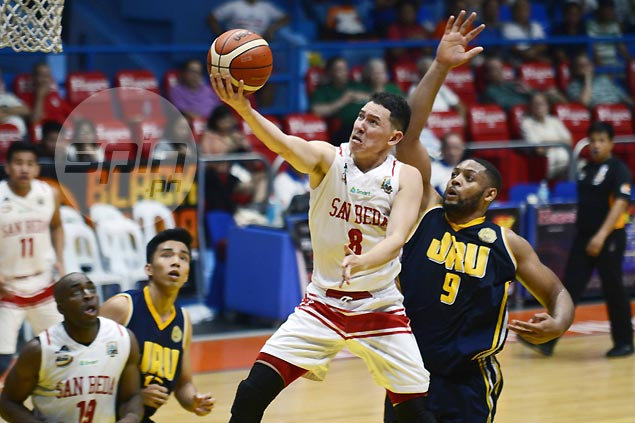 San Beda holds off JRU, keeps slate unblemished in march to Filoil Cup finals