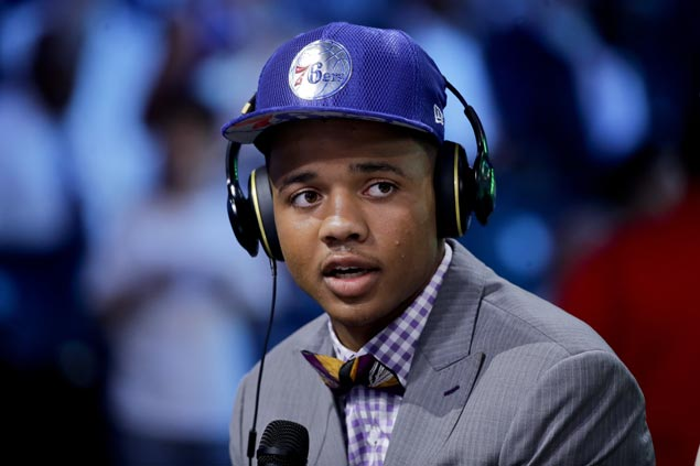 Top pick Fultz introduced as Sixers plan out extensive turnaround
