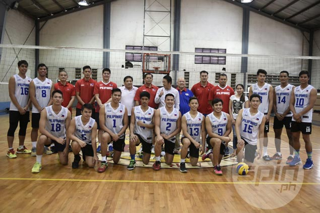 Korea trip no vacation for PH men's volleyball team with tough, grinding training schedule