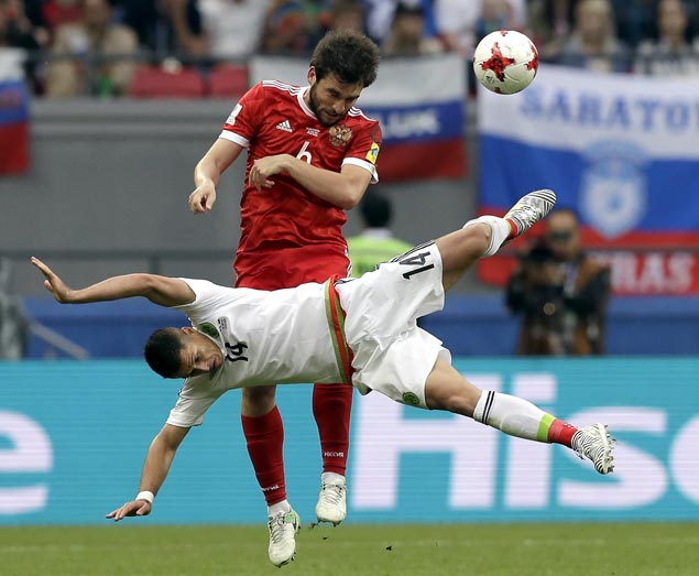 Portugal, Mexico reach Confed Cup semifinals