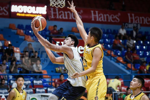 Rhayyan Amsali posts huge double-double as NU Bullpups down UST Tiger Cubs in battle for third