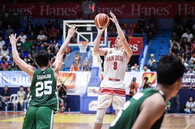 Bolick again breaks former team La Salle's heart by hitting title-clincher for San Beda