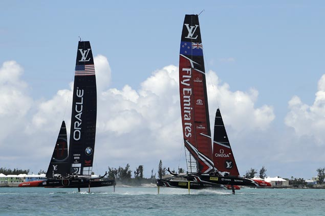 Redemption complete for Team New Zealand with rout of Oracle Team USA to win America's Cup