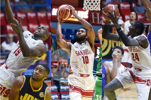 Three's a crowd as San Beda forced to pick two among Tankoua, Noah, and Toba