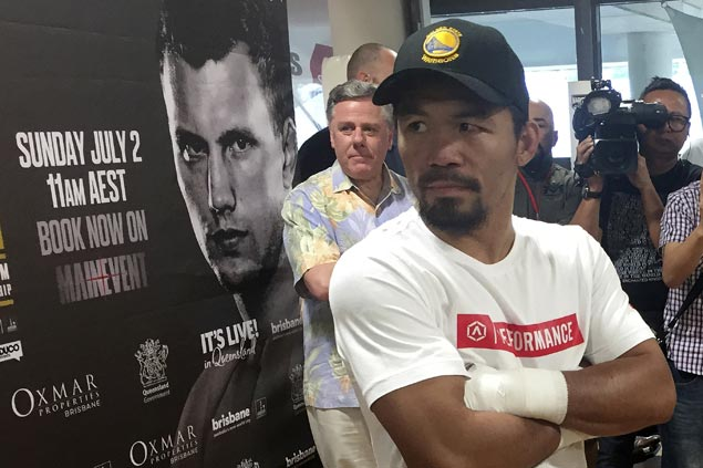 Manny Pacquiao prohibited from making public appearances due to safety concern ahead of title fight