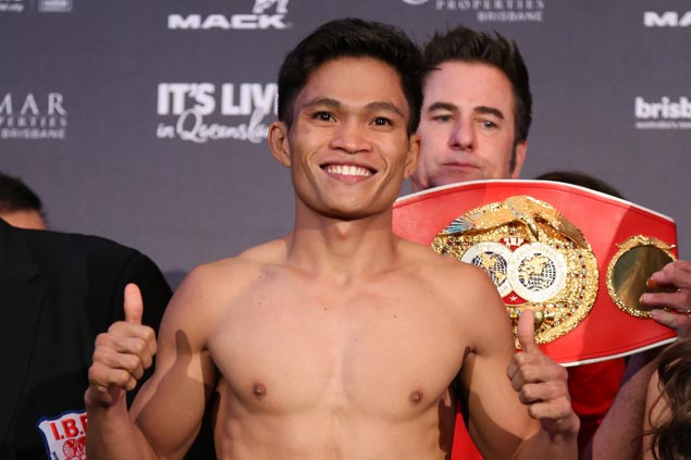 Ancajas stops Kinoshita for IBF junior bantamweight title
