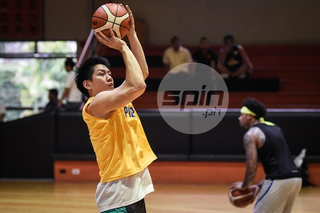Graduating student Jeron Teng content to learn from Gilas coaches, rising stars in training pool