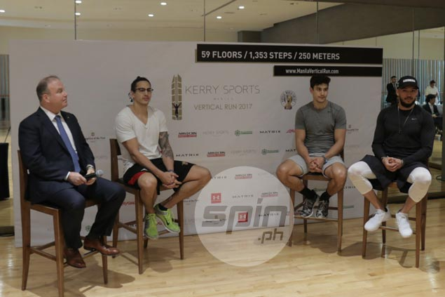 Top athletes, casual runners converge anew for return of Kerry Sports Manila Vertical Run