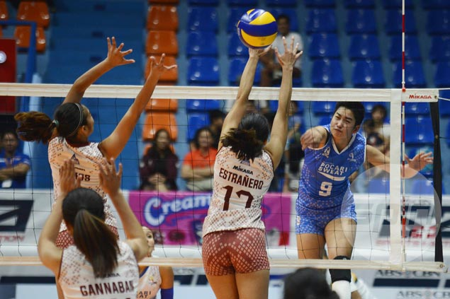 Pocari recovers from a set down to beat UP Lady Maroons in PVL Open