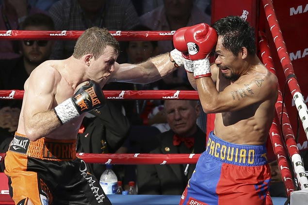 Pacquiao didn't just fight Horn in Brisbane; he also wrestled with Father Time