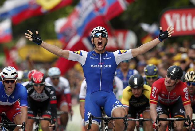 Marcel Kittel tops Stage Two as former Tour champ Jan Ullrich watches