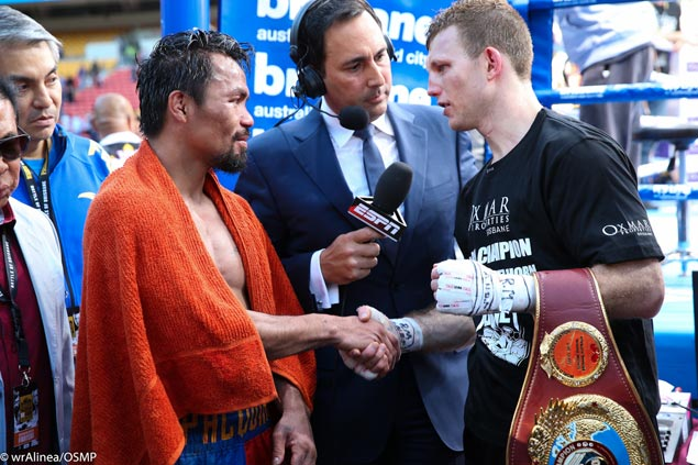 Jeff Horn unmindful of criticism, insists 'I felt like I won the fight' against Pacquiao