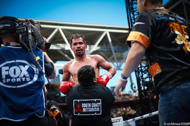 Pacquiao believes he won by 4 to 5 rounds despite Horn's 'rough tactics'