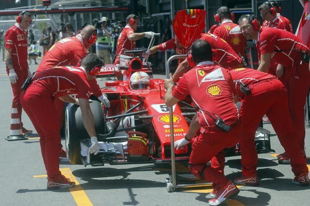 Sebastian Vettel spared penalties by FIA after deliberately colliding with Lewis Hamilton
