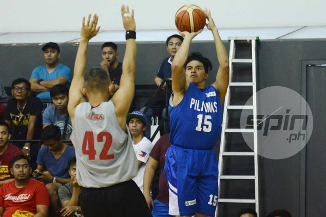 Kiefer Ravena hits go-ahead basket vs Alaska to keep Gilas perfect in tuneups for Jones Cup
