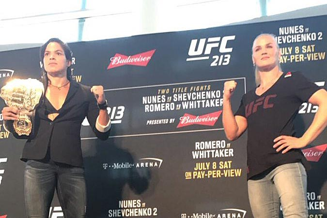 Amanda Nunes says sinusitis forced her to pull out of UFC 213 title fight vs Valentina Shevchenko