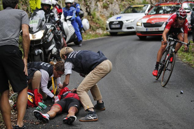 Twelve riders out after brutal day on the mountains as Chris Froome stays firmly on top