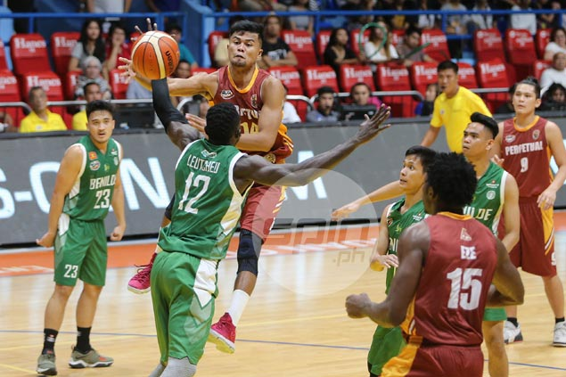 Perpetual files appeal to uphold win over CSB after forfeiture due to jersey blunder
