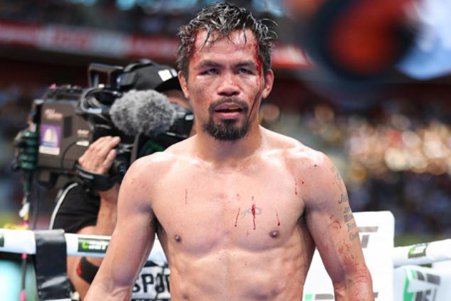 Pacquiao brushes off retirement call, vows to keep fighting 'until the passion is gone'