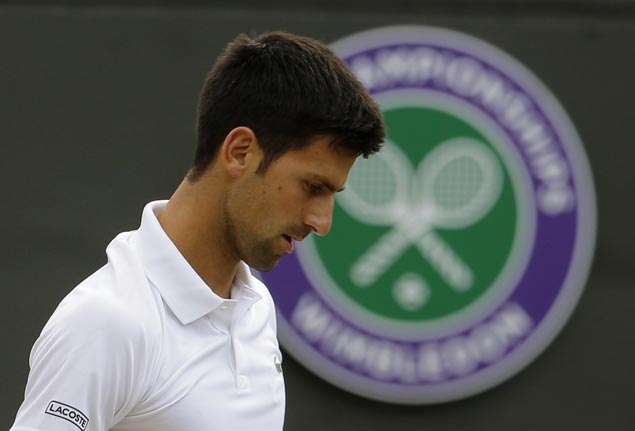 Angry Djokovic criticises officials and state of Centre Court grass