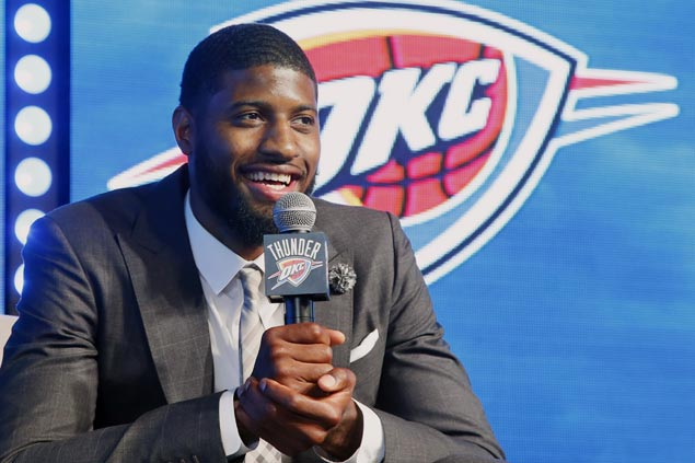 All-Star Paul George plans to stay if Thunder have 'killer season'