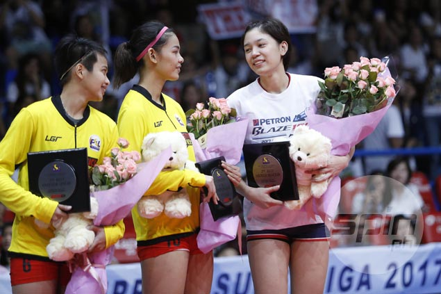 Bittersweet feeling for Mika Reyes after Petron's PSL title run leaves former team F2 in tears
