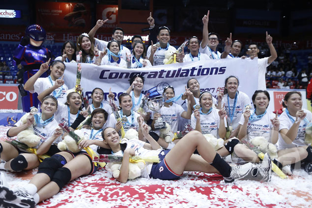 IMAGES: Petron on cloud nine after ending two-year PSL title drought in finals sweep over F2