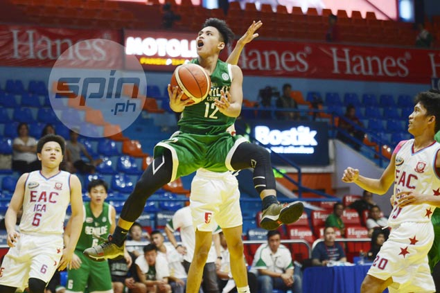 LSGH Greenies rout EAC to nab second straight win in NCAA juniors basketball