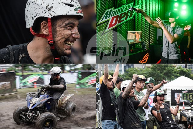 GALLERY Thrillseekers converge in BGC for dirty, good time in Mountain Dew's Dew Nation HQ