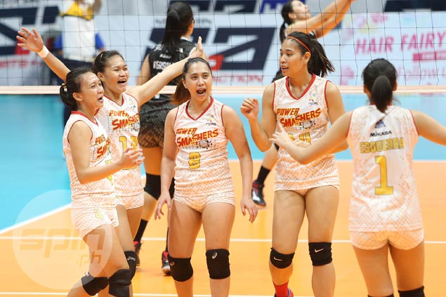 Power Smashers outlast Banko Perlas in five-set thriller to barge into win column in PVL Open