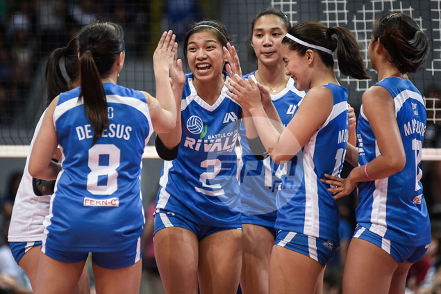 Alyssa Valdez savors fun moments as Ateneo rekindled rivalry with La Salle in charity event