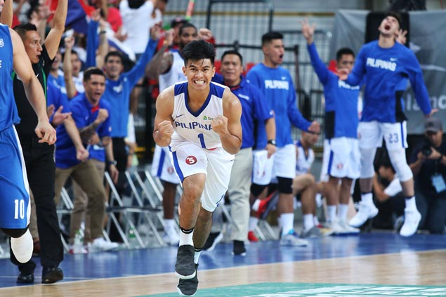 Gilas youngsters show fighting qualities in big victory over host Taipei in Jones Cup