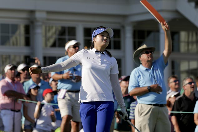 Korean Golfer Park Sung-hyun Wins US Women's Open