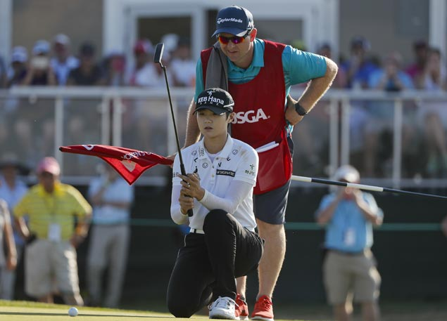 Sung Hyun Park tops US Open for first LPGA Tour title