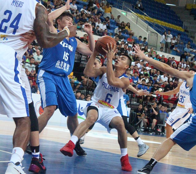Lackluster Gilas Pilipinas does just enough to put away Taipei B in Jones Cup