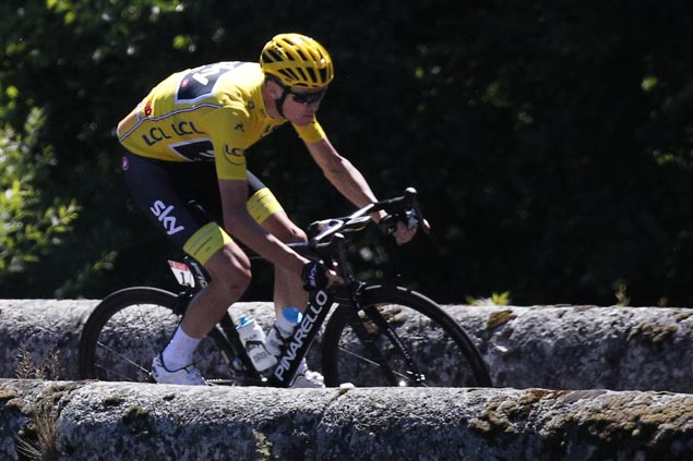 Tight finish set as only seconds separate four top riders with six stages left in Tour de France