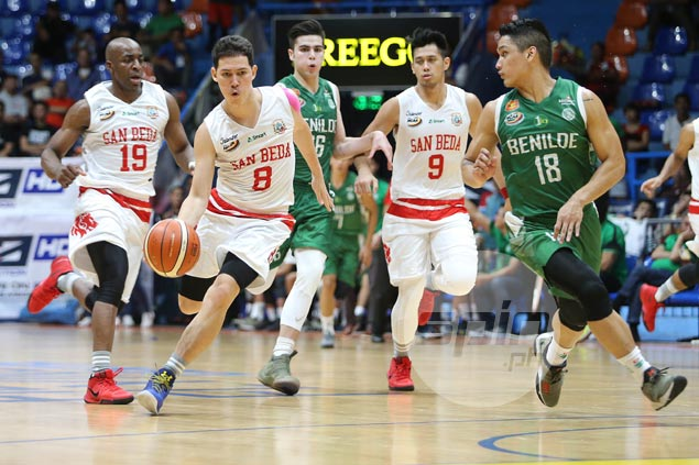 San Beda vents ire on CSB with 24-point rout over Blazers to get back on winning track