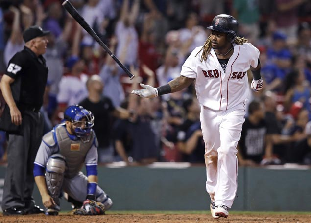 Hanley Ramirez hits game-winning homer for Red Sox in 15-inning marathon against Jays