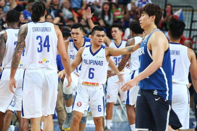Reserves tow Gilas to 31-point rout of India